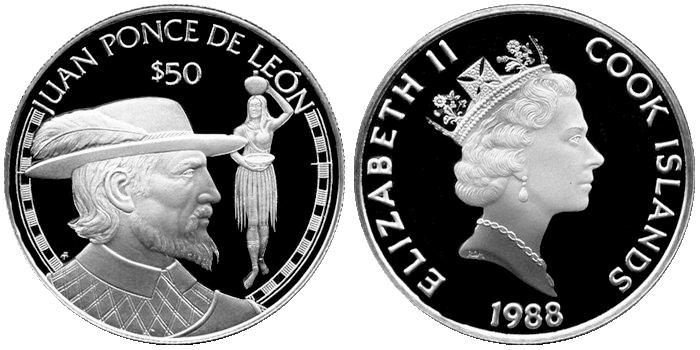 Кто выпускает монету южный полюс номиналом 5 долларов амундсен интеркрим