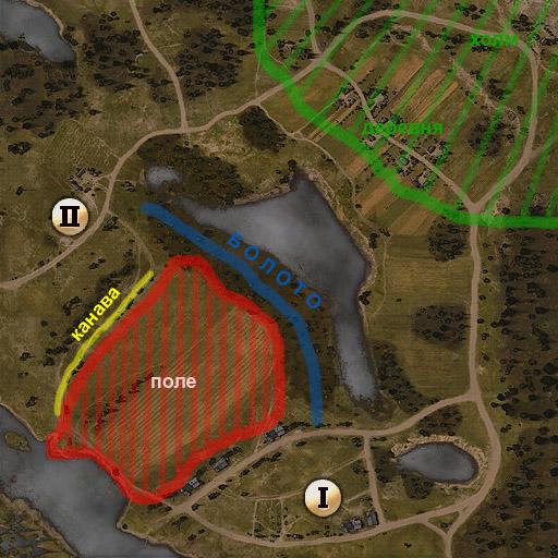 Карта хороша для обороны и